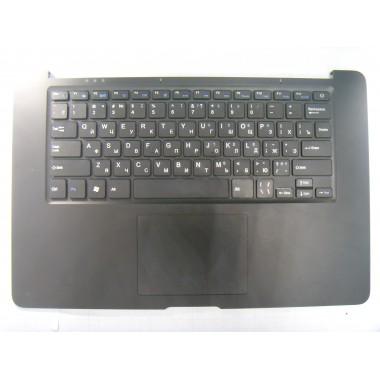 Верхняя часть корпуса с тачпадом и клавиатурой для ноутбука 4Good AM500