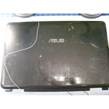 Задняя крышка матрицы с антеннами Wi-Fi для ноутбука Asus K51A