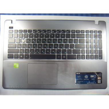 Верхняя часть корпуса с клавиатурой и тачпадом для ноутбука Asus X550C