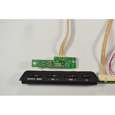 Кнопка включения и ИК приемник сигнала E148158 RH-K4 94V