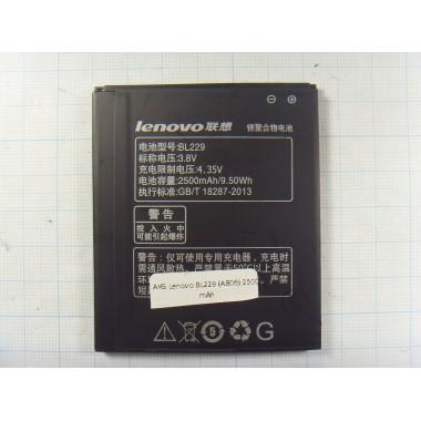 Аккумулятор Lenovo BL229 (A806)