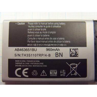 Аккумулятор Samsung (AB463651BE)
