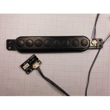 Кнопки боковой панели EBR76384101 для телевизора LG 42LA615V-ZE