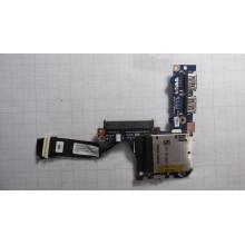 USB-модуль + картридер для нэтбука eMachines eM250-01G16i