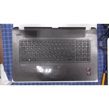Верхняя часть корпуса с тачпадом для ноутбука HP Pavilion 17