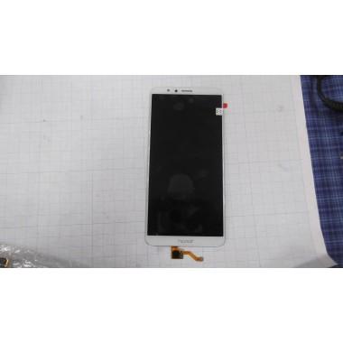 Дисплей Huawei honor 7X модуль белый