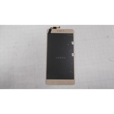 Дисплей Xiaomi Mi 4S модуль золото