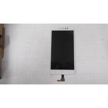 Дисплей Xiaomi Redmi Note 5A Prime  модуль белый