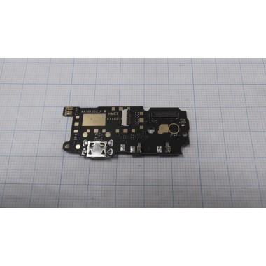 Нижняя плата Xiaomi Redmi Note 4 разъем зарядки/микрофон