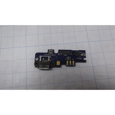 Нижняя плата Xiaomi MI4i разъем зарядки/микрофон