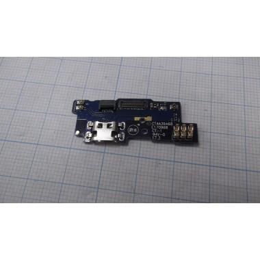 Нижняя плата Meizu A5 разъем зарядки/микрофон