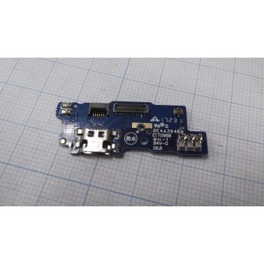 Нижняя плата Meizu M5C разъем зарядки/микрофон