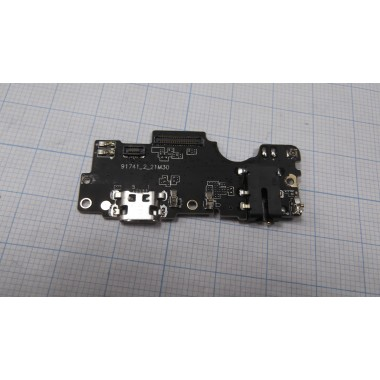 Нижняя плата Meizu E2  разъем зарядки/микрофон/гарнитура