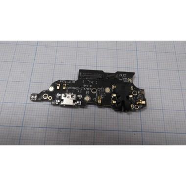 Нижняя плата Meizu M6 Note  разъем зарядки/микрофон/гарнитура