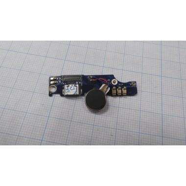 Нижняя плата Meizu M2 Note  разъем зарядки/микрофон/вибро