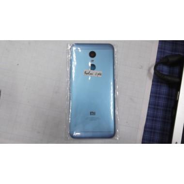 Задняя крышка Xiaomi Redmi 5plus голубая