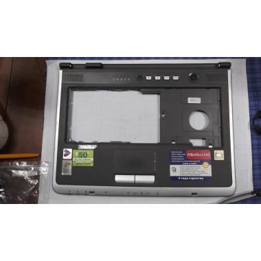 Верхняя часть корпуса с тачпадом для ноутбука Rover Book Nautilus E550 WH(GS)