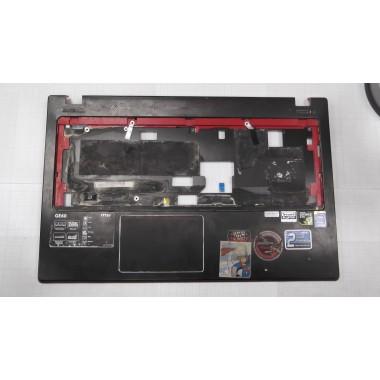 Верхняя часть корпуса с тачпадом для ноутбука MSI MS-16GC