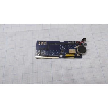 Нижняя плата с вибромотором для смартфона Prestigio Wize N3 PSP3507 DUO