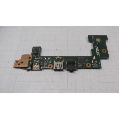 USB разъем + аудио разъем для ноутбука ASUS X101CH