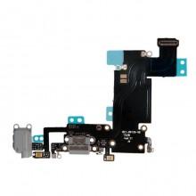 Шлейф 821-00126-08 с разъёмом зарядки, микрофоном, гарнитуры и антенной для Apple iPhone 6S Plus, чёрный