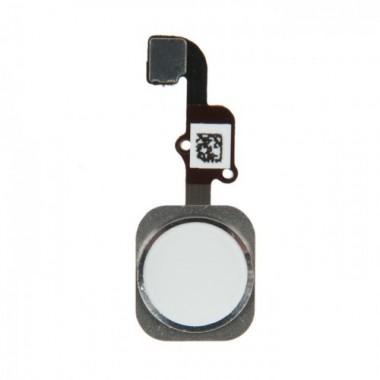Кнопка HOME Touch ID в сборе iPhone 6 / 6 Plus белая (821-2441-06)