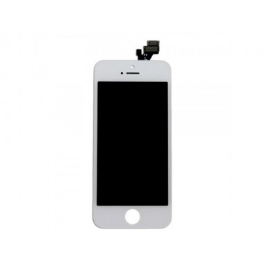 Дисплей (LCD) Apple iPhone 5G (модуль) FULL COMPLETE + TOUCH SCREEN white (белый)