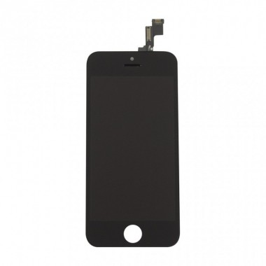 Дисплей (LCD) Apple iPhone 5C (модуль) FULL COMPLETE + TOUCH SCREEN black (чёрный)