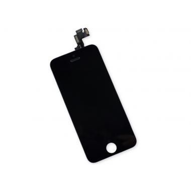 Дисплей (LCD) Apple iPhone 5S (модуль) FULL COMPLETE + TOUCH SCREEN black (чёрный)