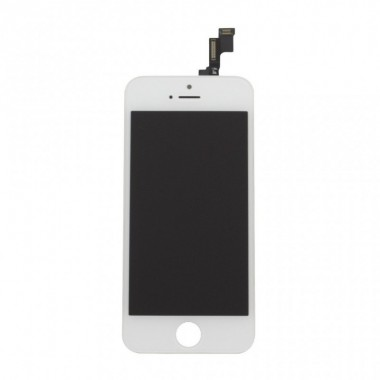 Дисплей (LCD) Apple iPhone 5S(модуль) FULL COMPLETE + TOUCH SCREEN white (белый)