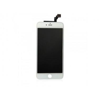 Дисплей (LCD) Apple iPhone 6+ (модуль) FULL COMPLETE + TOUCH SCREEN white (белый)
