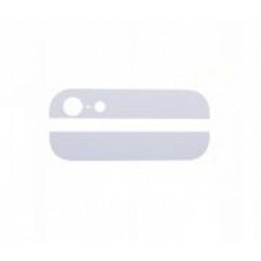 Стекло задней крышки для iPhone 5 (2шт) (белый)