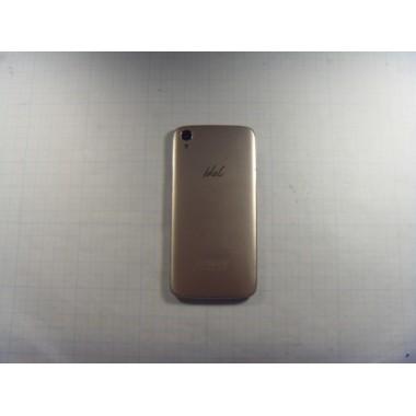 Задняя крышка для смартфона Alcatel One Touch Idol 3 (6039) золотая