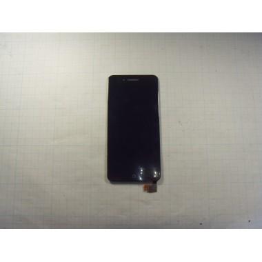 Дисплей ZTE Blade A610 модуль чёрный