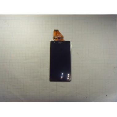 Дисплей Sony C5502 (ZR) модуль чёрный