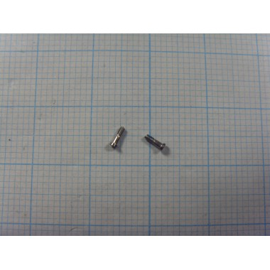 Комплект внешних винтов Iphone 6 (2 шт.) серебро