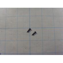 Комплект внешних винтов IPhone 5/5S/SE (2 шт.) чёрный