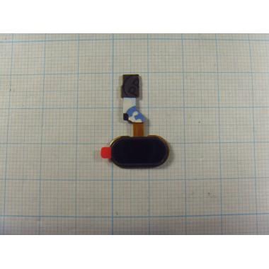 Кнопка HOME со шлейфом MEIZU M3S Mini чёрная