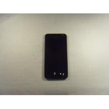 Дисплей HTC Desire 300 модуль чёрный в сборе с рамкой