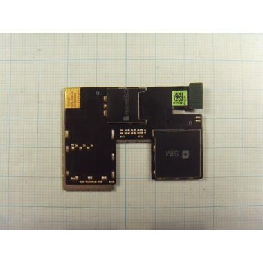 Картридер и слот SIM HTC Desire 300