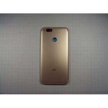 Задняя крышка Xiaomi Mi A1 золотая
