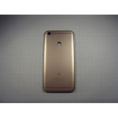 Задняя крышка Xiaomi Redmi Note 5A Prime золотая