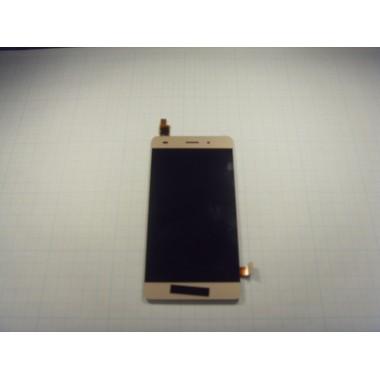 Дисплей Huawei P8 Lite золотой