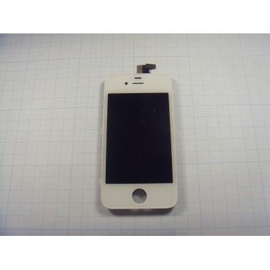 Дисплей Iphone 4S модуль белый