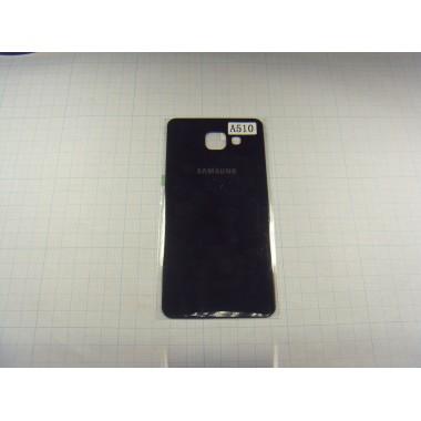 Задняя крышка Samsung A510 (A5 2016) чёрная