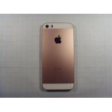 Задняя крышка (корпус) для Iphone SE Rose Golg