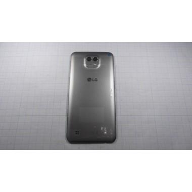 Задняя крышка LG K580 X Cam серая