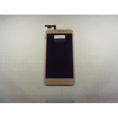 Дисплей Xiaomi Redmi Note 3 Pro SE 152mm модуль золото