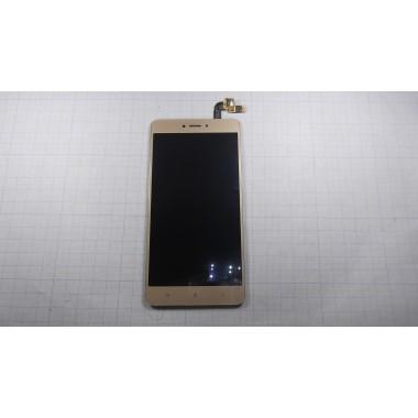 Дисплей Xiaomi Redmi Note 4X модуль золото